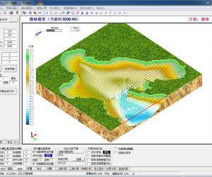 CJK3D应用实例:渤海模型