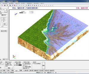 CJK3D应用实例:苏北辐射沙洲模型